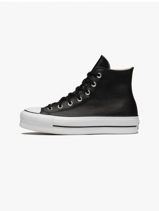 Converse All Star Chuck Taylor Leather Platform Hi