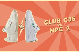 Reebok Club C 85 vs. Reebok NPC 2