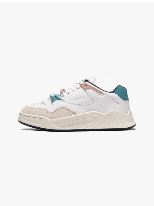 Lacoste Court Slam Synthetic and Leather W