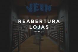 Reabertura Lojas Vein