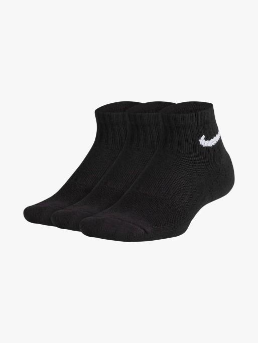 Nike Pack 3 Performance Cushioned Quarter Kids